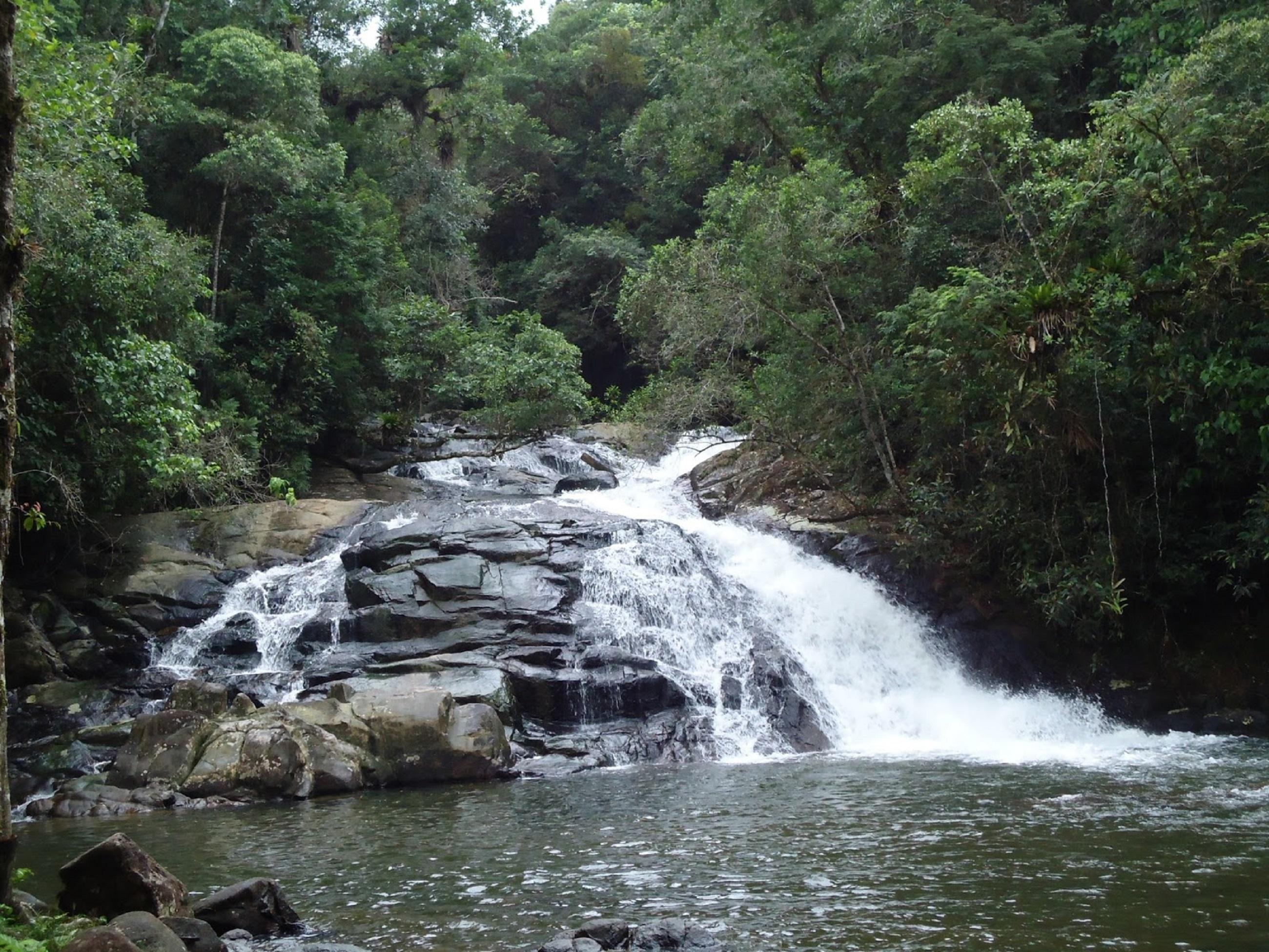 Cananeia-SP Cachoeira Pitú